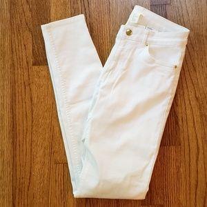 NWT - H&M White Skinny Jeans